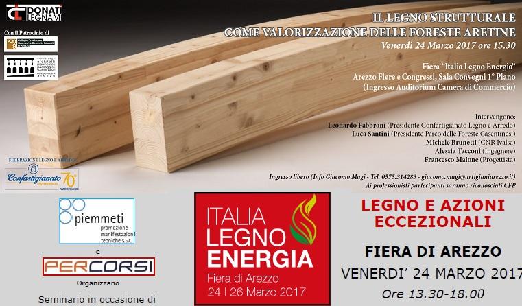 Seminari italia legno energia fiera di arezzo ordine for Italia legno energia